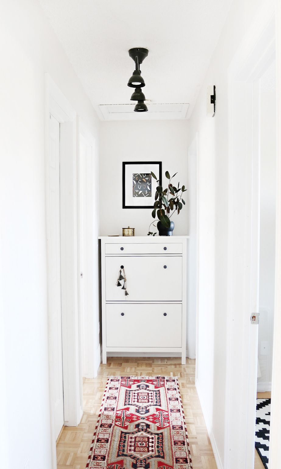 A Small Hallway Gets a Minimal Makeover | Curbly