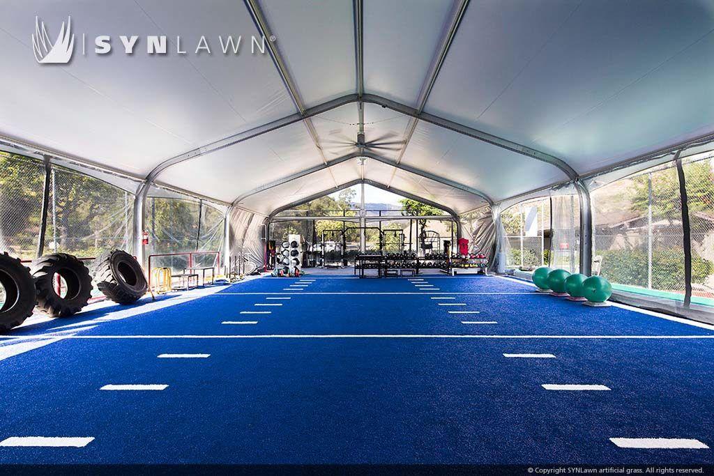Agility & Track Turf Gym interior, Crossfit garage gym