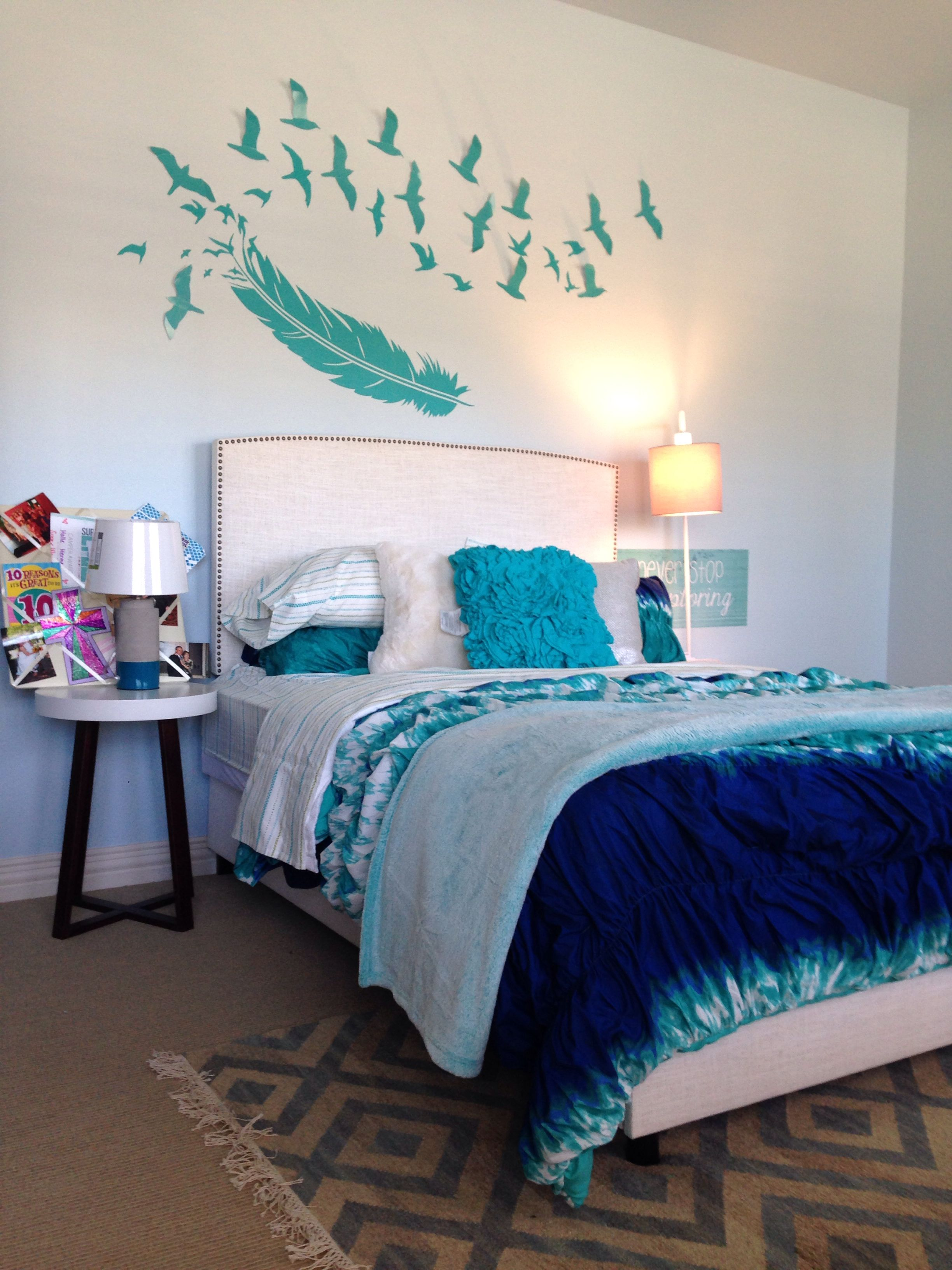 Tween room update on a budget by studio b design group - Teenage girl bedroom ideas on a budget ...