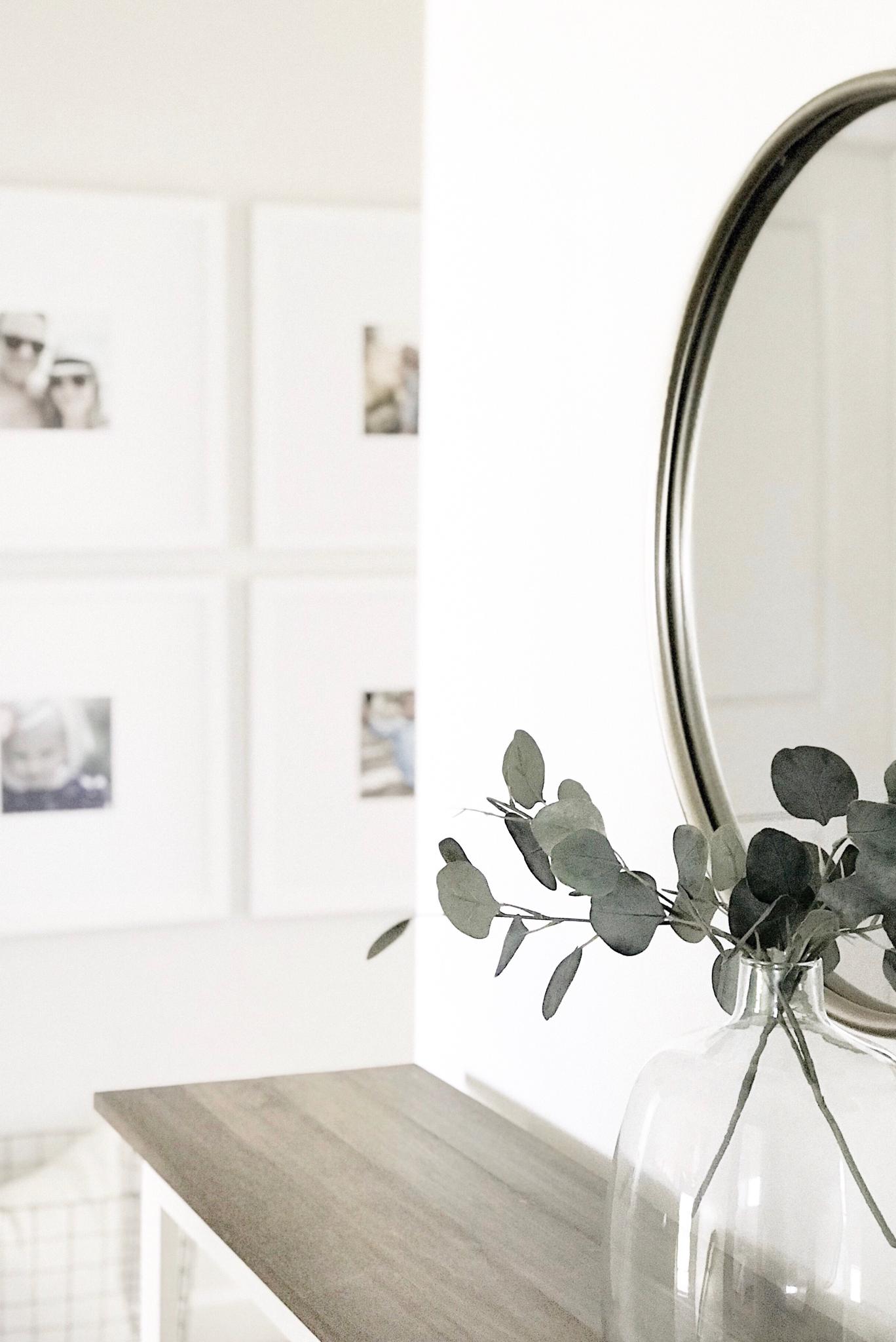 All white gallery wall. Frameiteasy. Amazon home decor
