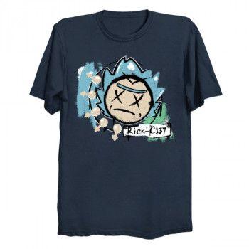 Rick and Morty / Blink-182 mashup t-shirt.