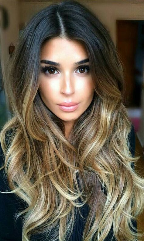 Baby Balayage Hair Extensions Clip In Hair Extensions 220 Grams