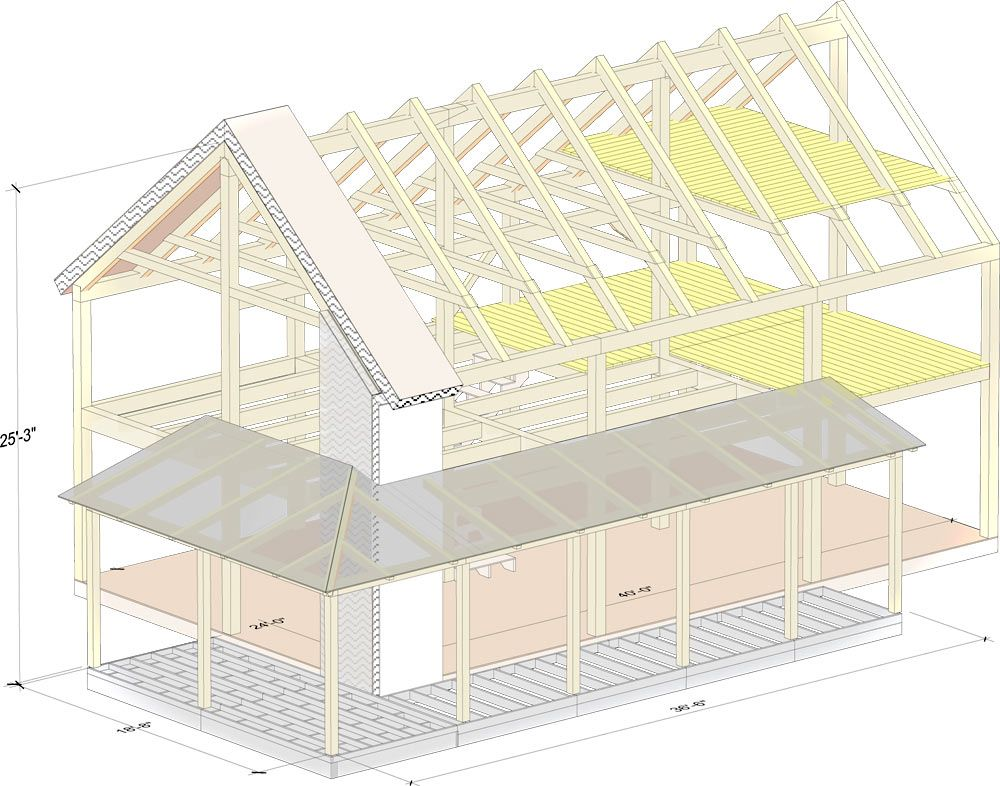2,000 sq. ft. timber frame house kit, $100k | Welcome Home ...