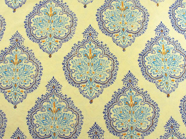 Blue Yellow Shower Curtains French Curtain Bath Fair Trade