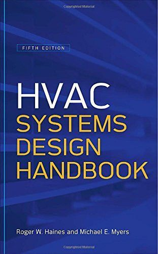 Hvac Systems Design Handbook Fifth Edition Mechanical Engineering Hvac System Design Hvac Design Hvac System