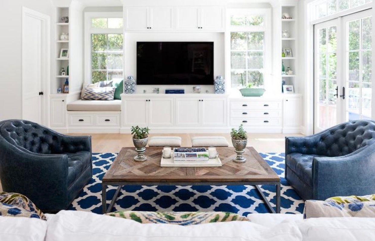 Tv Between Windows Living Area Dining Living Room In
