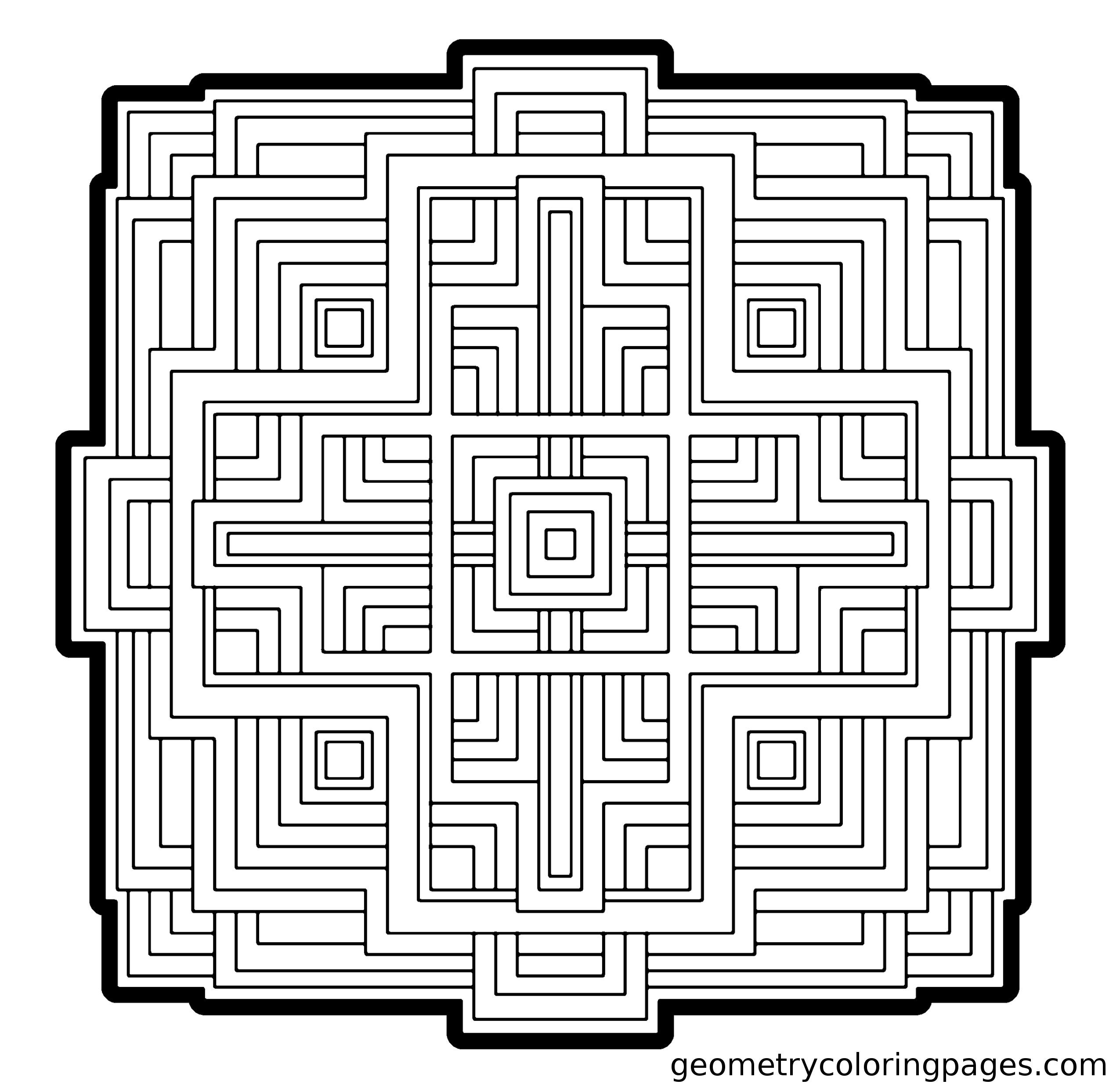 Pin By Catherine Trotin On Coloring Pages Geometric Coloring Pages Coloring Pages Blank Coloring Pages