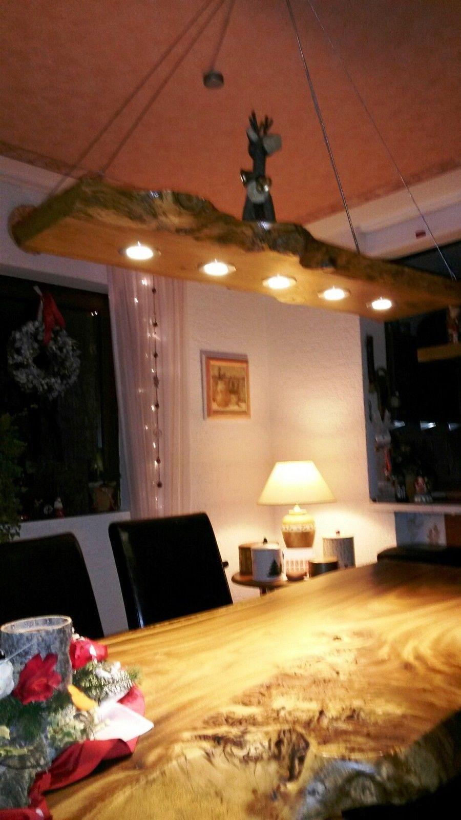 Led 60cm 120 Cm Massivholz Eichen Esstischlampe 7w Decken