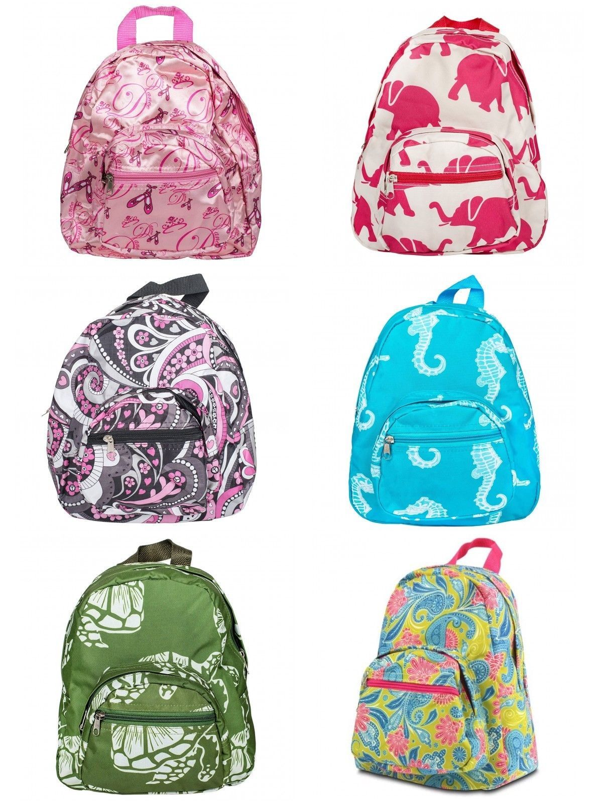Mini School Travel Small Backpack Kid Toddler Teen Backpack Floral