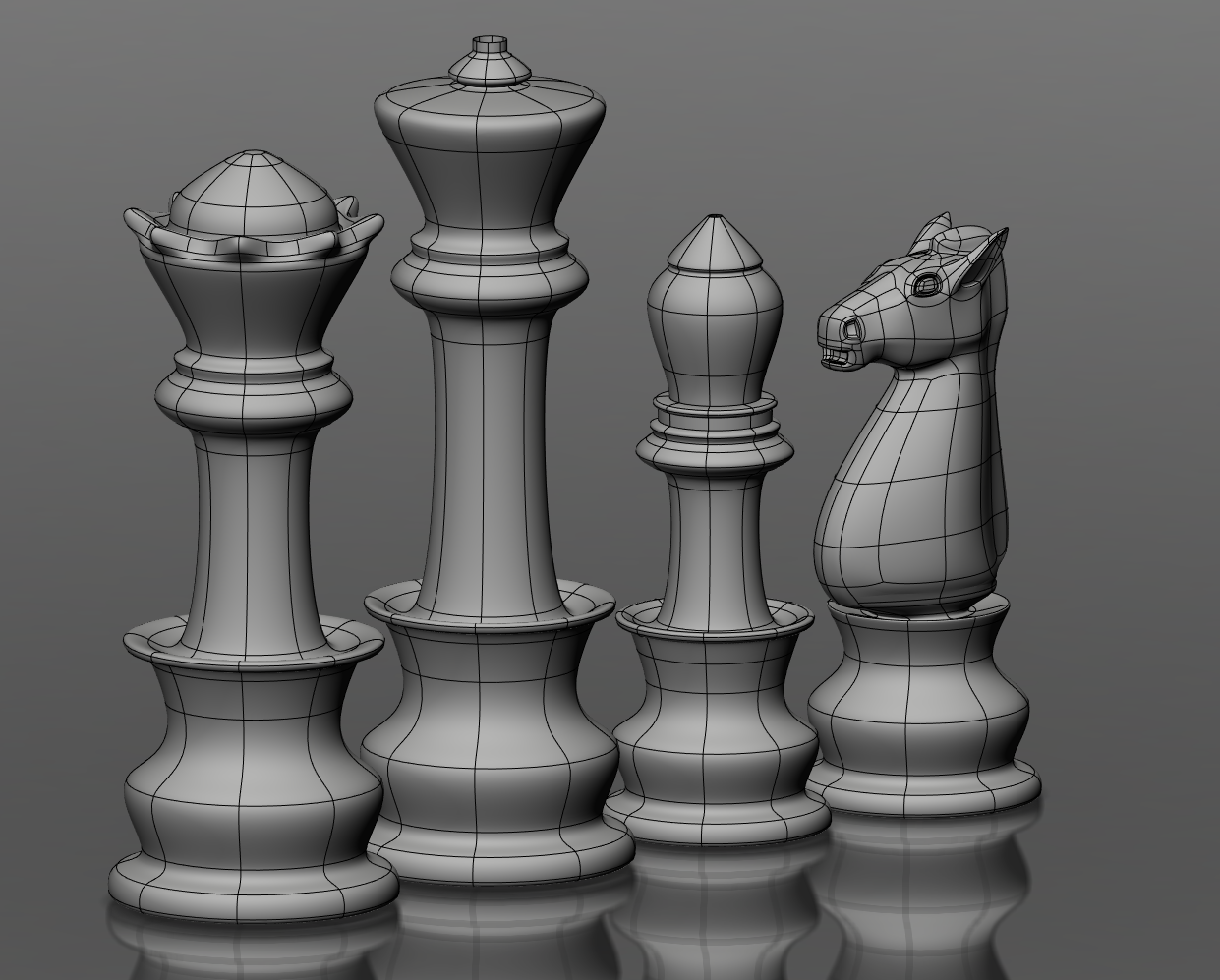 Chess Pieces Chess Pieces Chess Alice In Wonderland