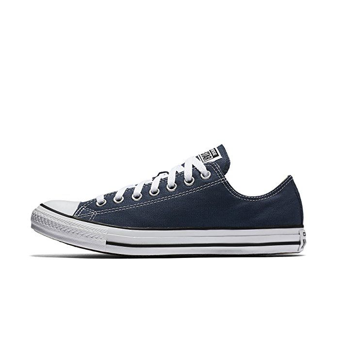 Converse Unisex Chuck Taylor All Star Ox Low Top (Navy) Sneakers - 12 B