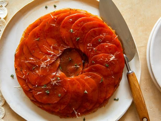 Upside Down Butternut Squash Tart Recipe Food Network Recipes