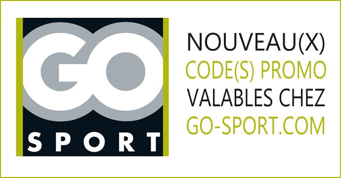 Nouveau X Code S Promo Chez Go Sport Go Sport Code Promo Sport