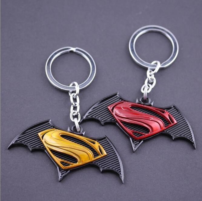1pc Superhero Batman Key Chain Beer Bottle Opener Alloy Key Ring Souvenirs Metal