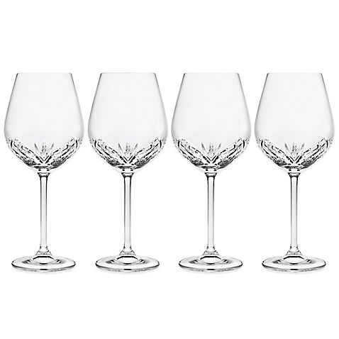 Dublin Crystal Wines, 19 oz. $59.99/Set of 4 at bedbathandbeyond.com, 9/3/15
