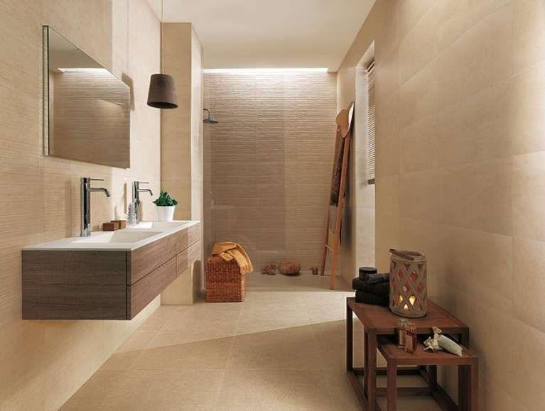 Arredare un bagno cieco - Rivestimento chiaro per illuminare il ...