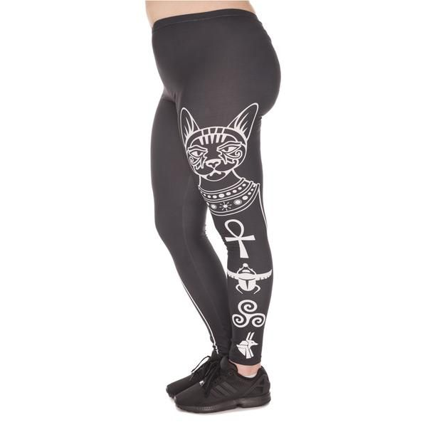 egyptian cat plus size leggings | egyptian cats, cleopatra and
