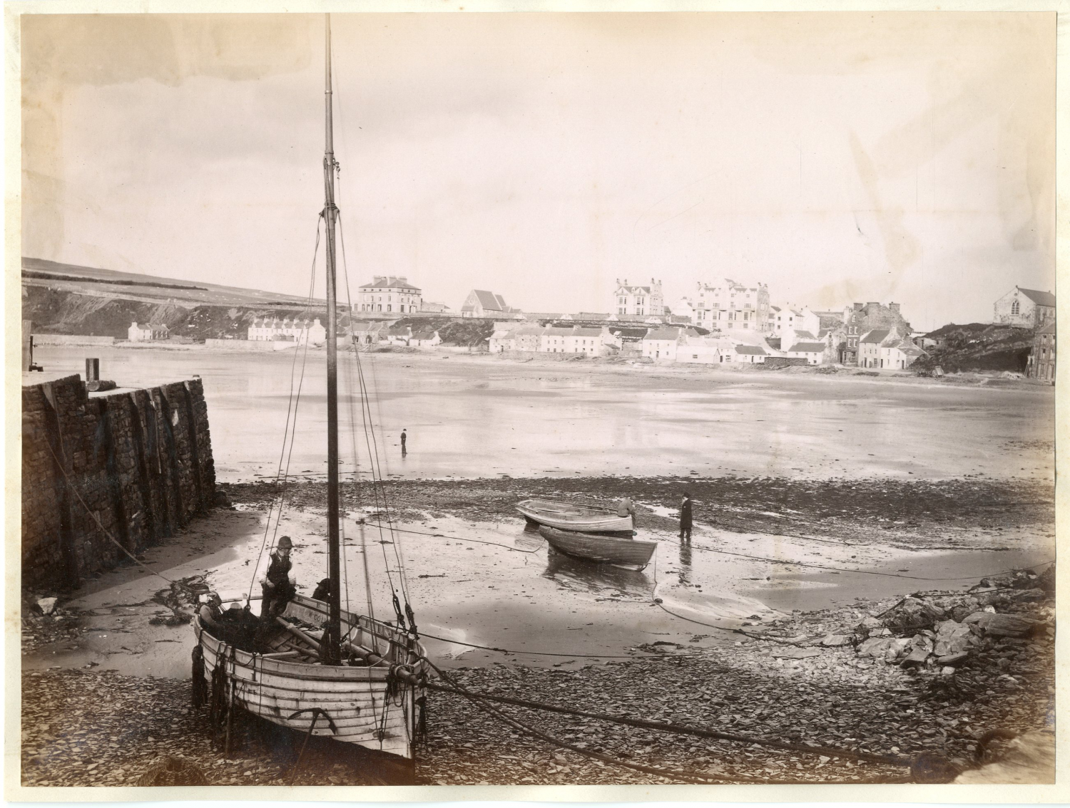Angleterre, Ville à identifier, ca. 1875    #Europe #Angleterre_Great_Britain #Angleterre_Divers