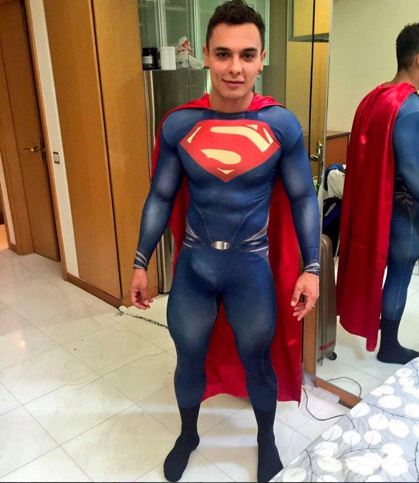 Superhero guys naked #3