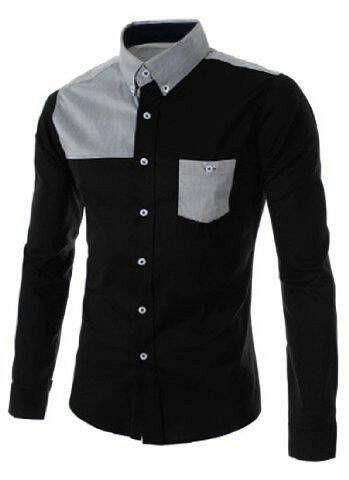 Baju Kemeja Keren Dewasa Denny Boy Warna Hitam Model Terbaru