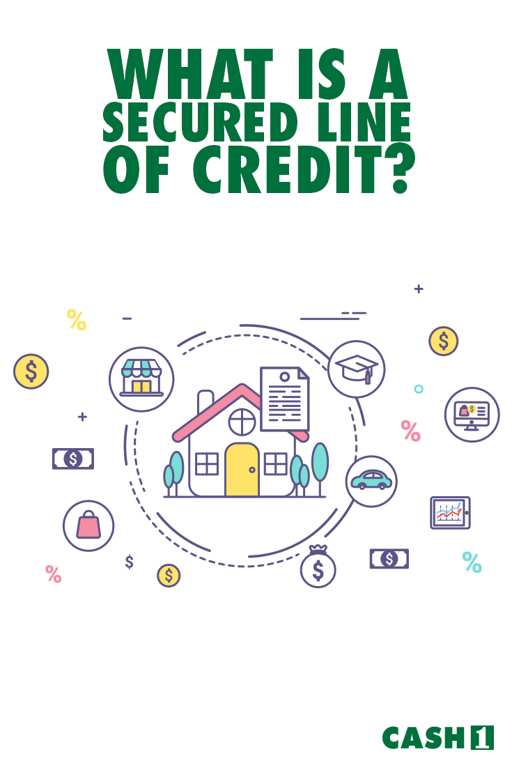 What Is A Secured Line Of Credit Check Out Our Guide And Learn The Line Of Credit Definition And How Does A Line Line Of Credit Credit Check Installment Loans