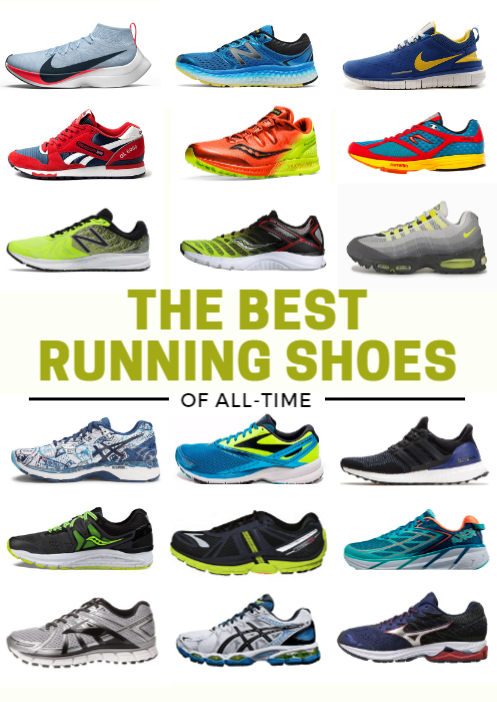 c4d3f13337 The Best Running Shoes of All-Time | Run Like the Winded | Best ...