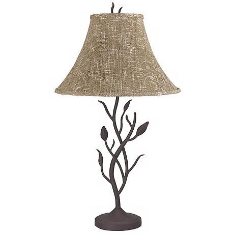 Wrought Iron Tree Table Lamp 83698 Lamps Plus Table Lamp