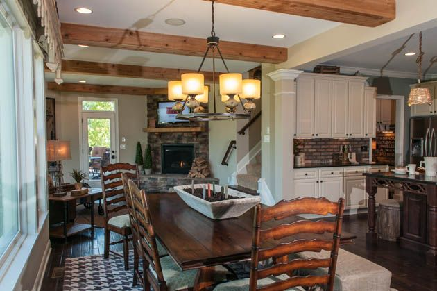 Stone Fireplaces & Wooden Beam's. Just a few of the items that are on Buyer's wish lists when looking for their dream home. Cozy isn't it?