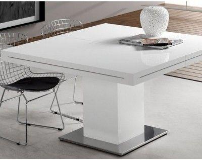 mesa-comedor-cuadrada-salguer | Mesas de comedor modernas | Mesas de ...