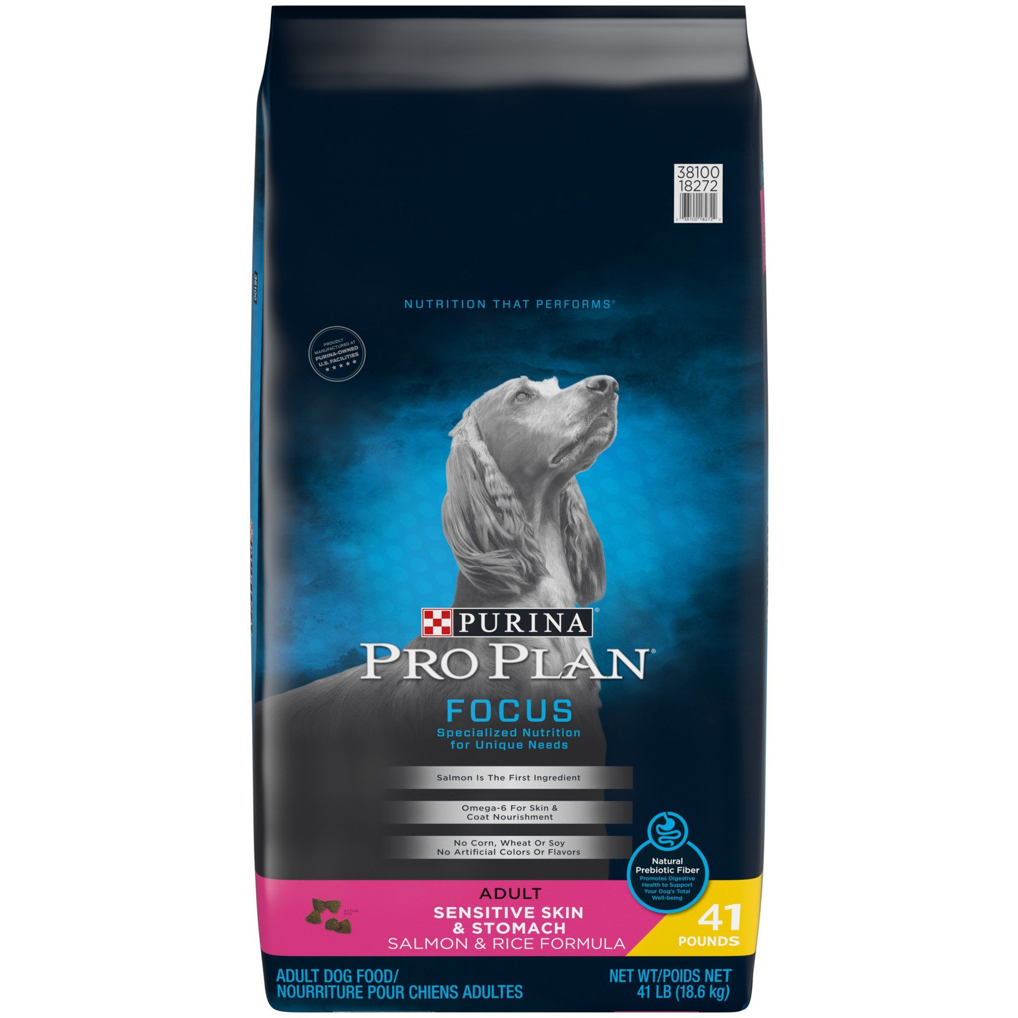 Purina Pro Plan Focus Sensitive Skin Stomach Salmon Rice