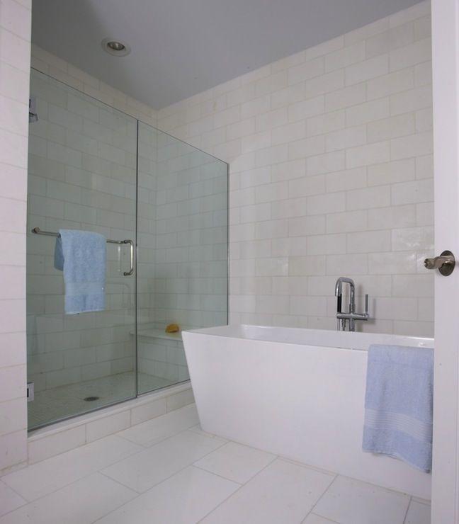 Bathroom Subway Tile Design Suzie Lynn Morgan Design  Spa Like Master Bathroom With Seamless