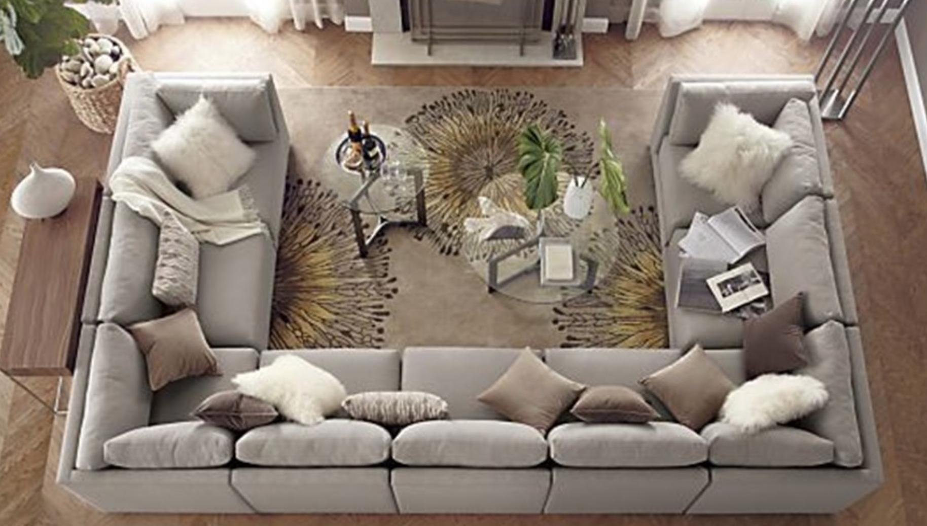 super popular 3588b feb81 u shape sofa | Nuwe Huisie ♡♡ in 2019 | U shaped sofa, U ...