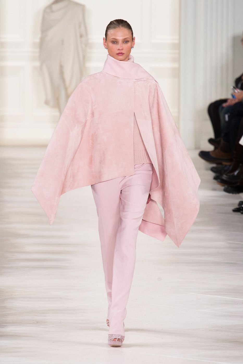 Ralph Lauren Introduces New Polo Label On His Fall Runway ...