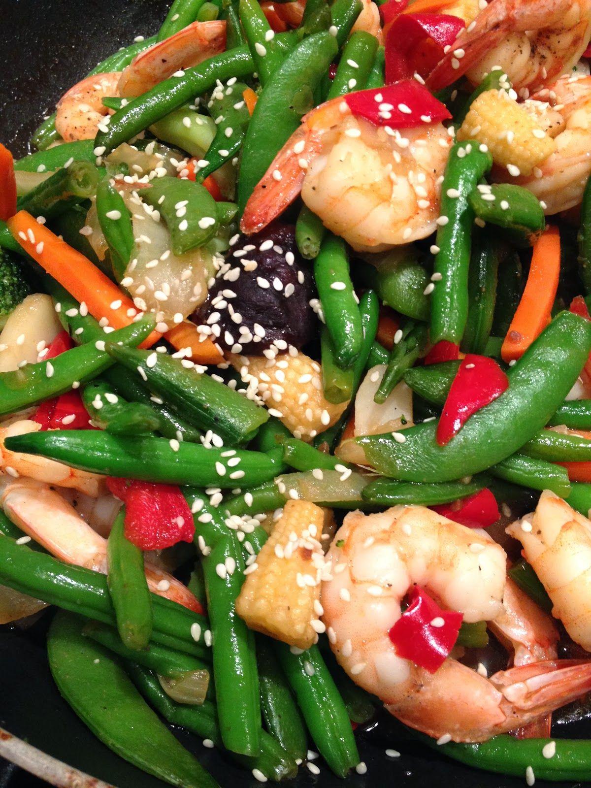 Fast and Easy Shrimp Stir Fry