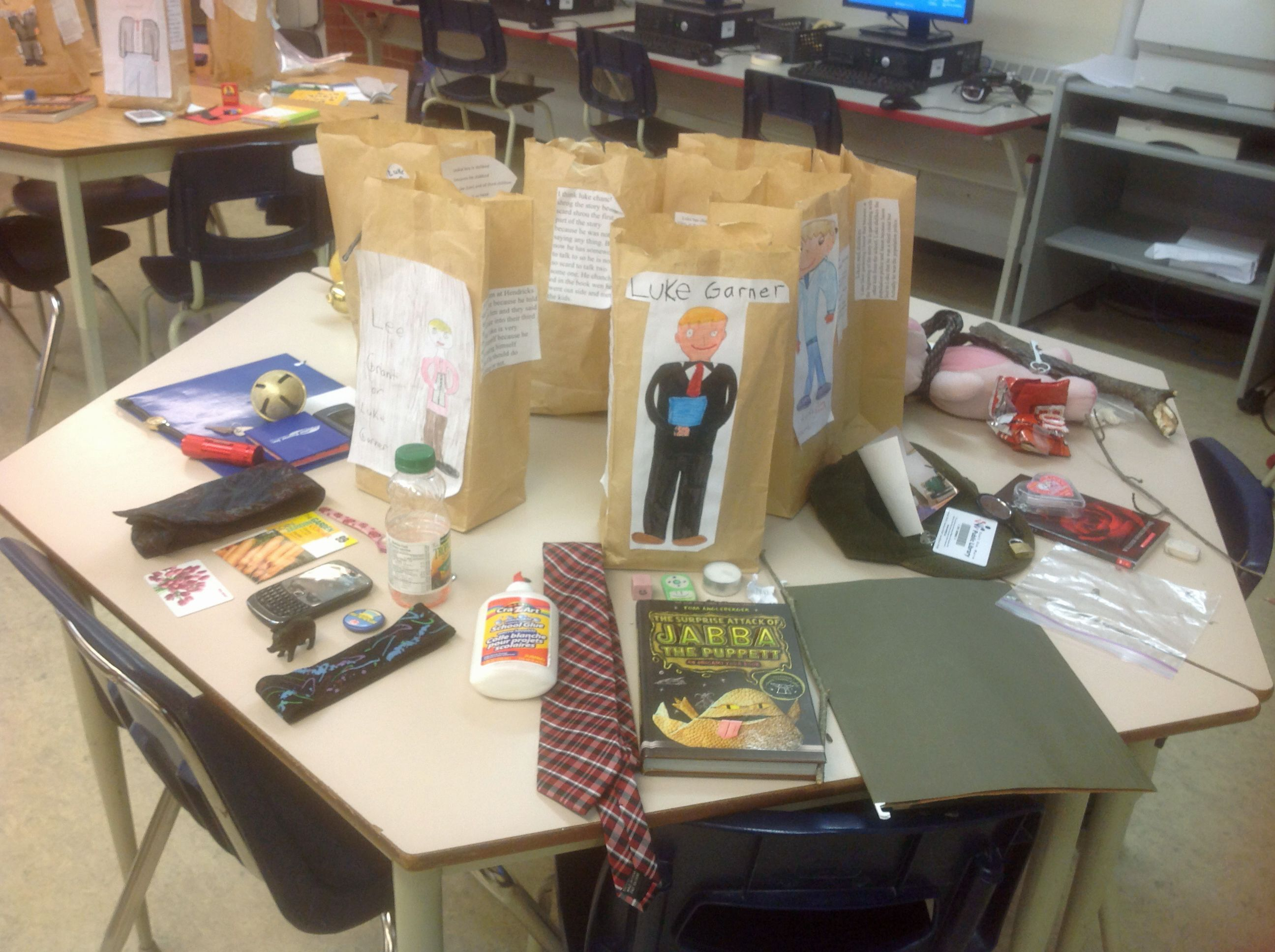 best images about character traits graphic paper bag character study one of my students favourite projects every