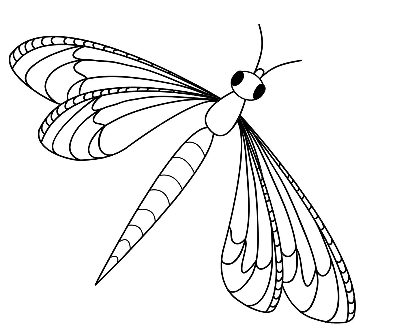 Printable Dragonfly Coloring Pages Coloring Pages Dragonfly