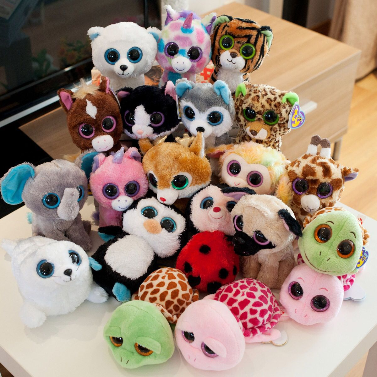 TY STUFFED ANIMALS Ty stuffed animals, Cute stuffed