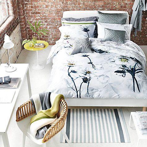 Buy Designers Guild Pomander Bedding Dove Online At Johnlewis Com Spring Interiors Interior Styling Bed