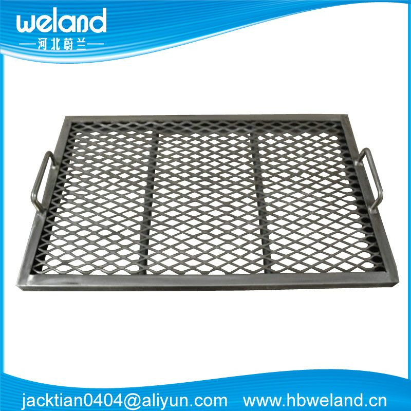 40x60cm Expanded Mesh Bbq Grill Grates Hole 10x20 20x40mm Angle