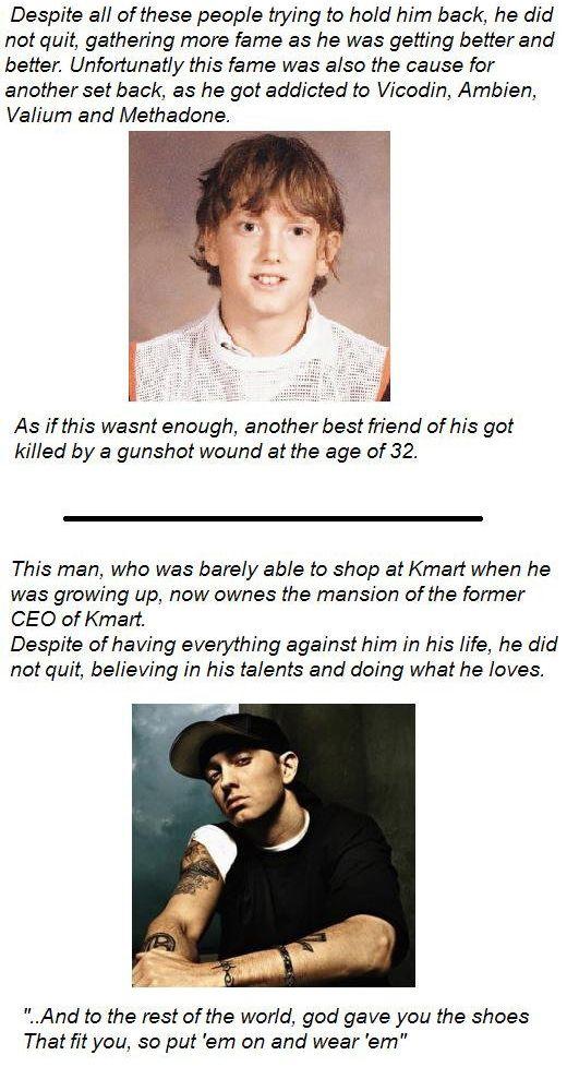 Lyric i m not afraid eminem lyrics : The Marshall Mathers Story Part 3 | My Love, Eminem<3 | Pinterest ...