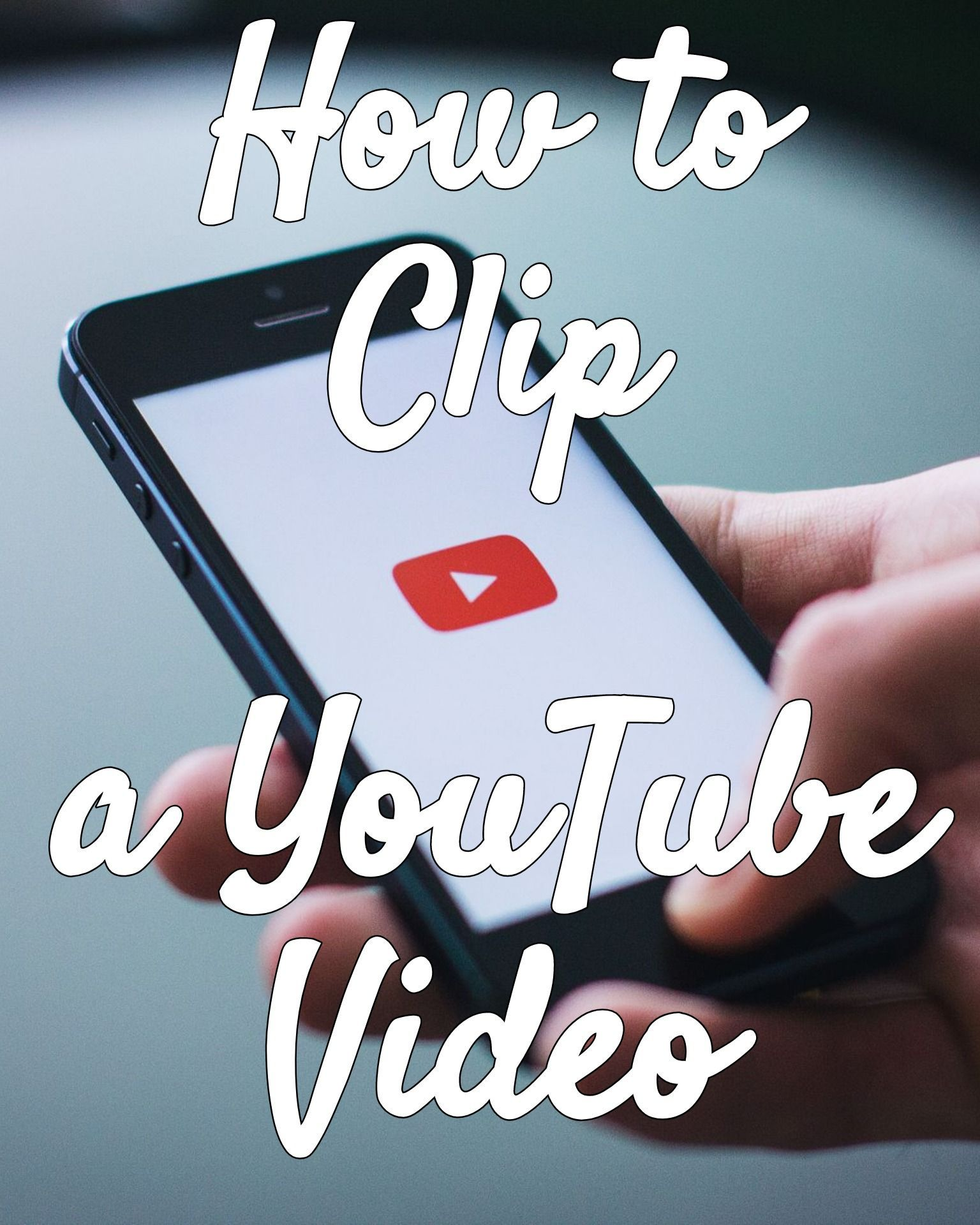 How To Clip A Youtube Video Youtube Videos Youtube Editing Free Online Videos