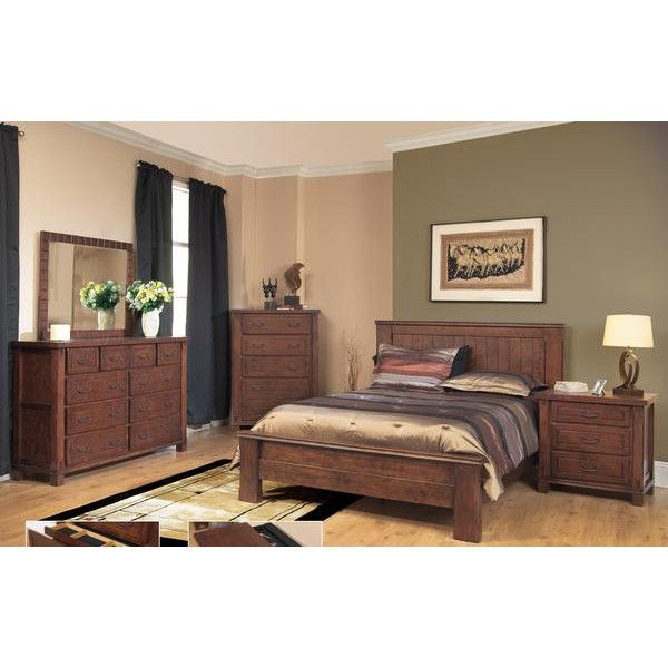 AYCA Furniture Fergus County Panel Bed U0026 Reviews | Wayfair