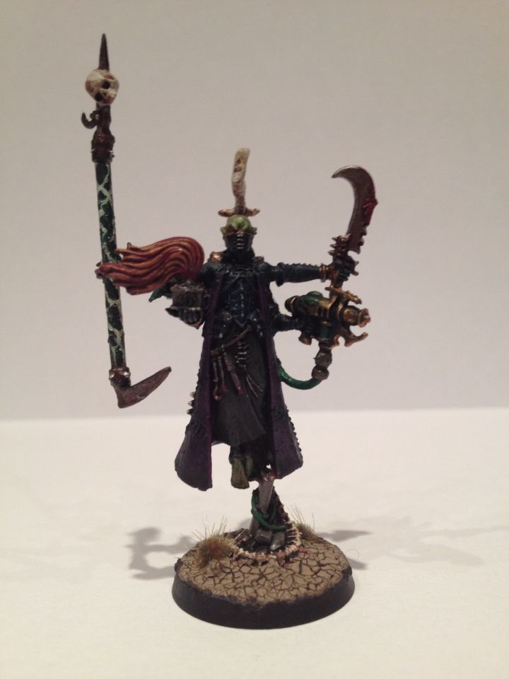 The Dark Eldar Haemonculus (it only took me about a week to learn how to say that!)