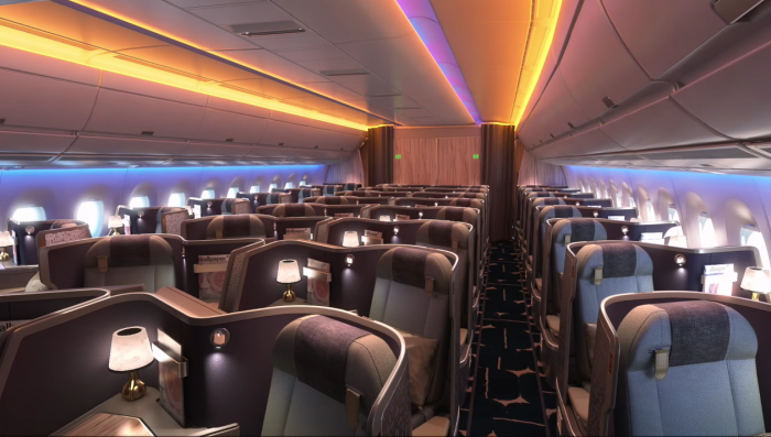 China Airlines Reveals Airbus A350900XWB Cabin Interiors