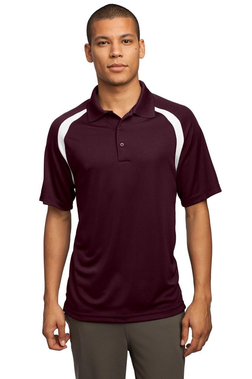 Mens Sport Shirt, colorblock, moisturewicking