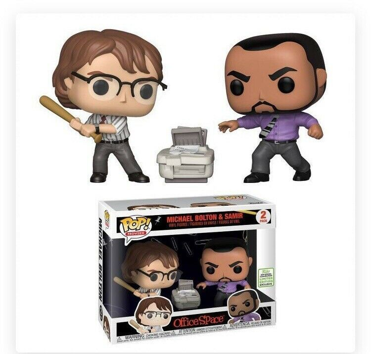 Funko Pop Office Space Michael Bolton Samir 2019 Spring Convention Exclusive Afflink When You Click On Links To Various Merc Michael Bolton Funko Funko Pop