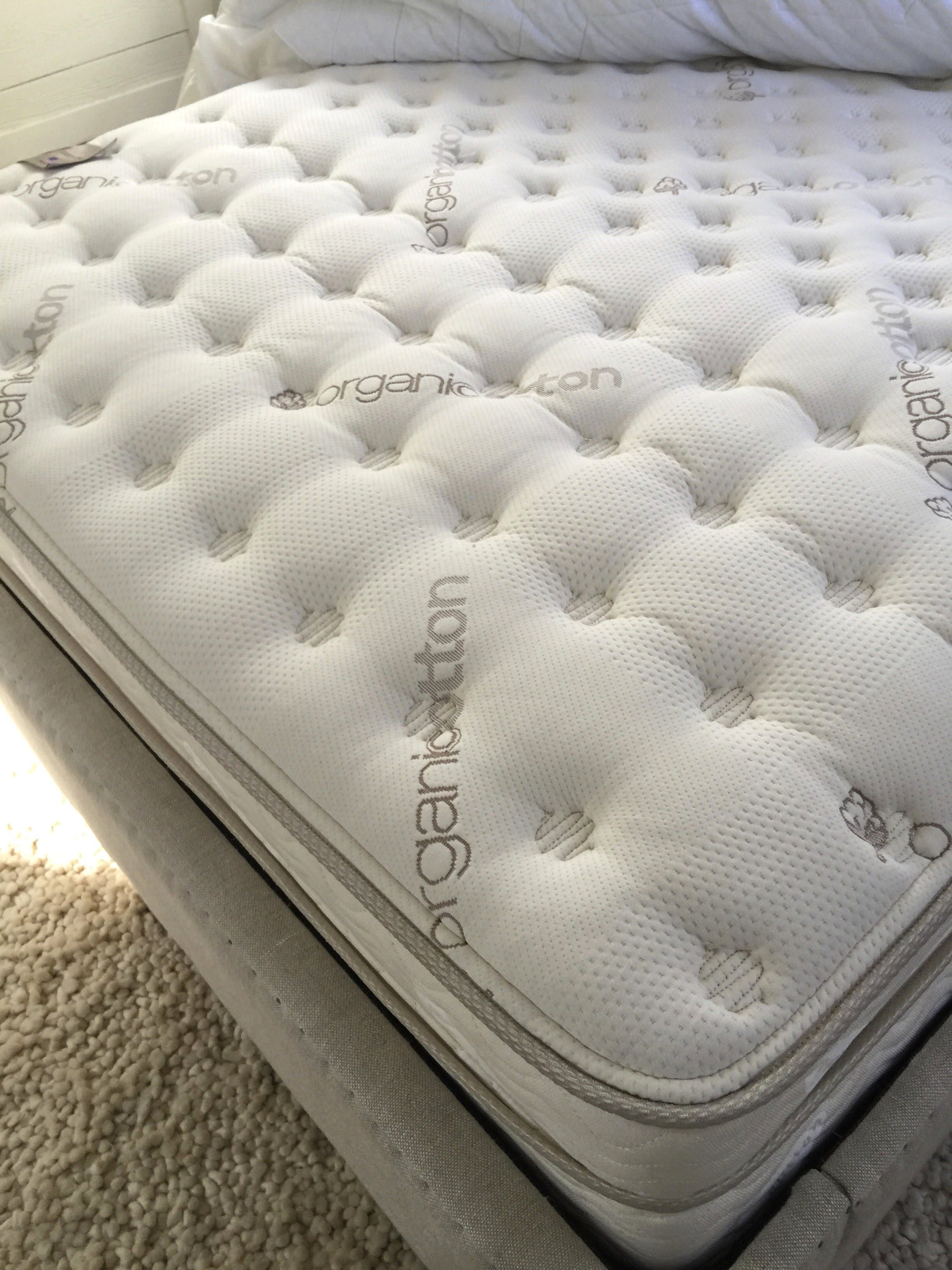 Review Saatva Luxury Firm Mattress Mattress, Dream