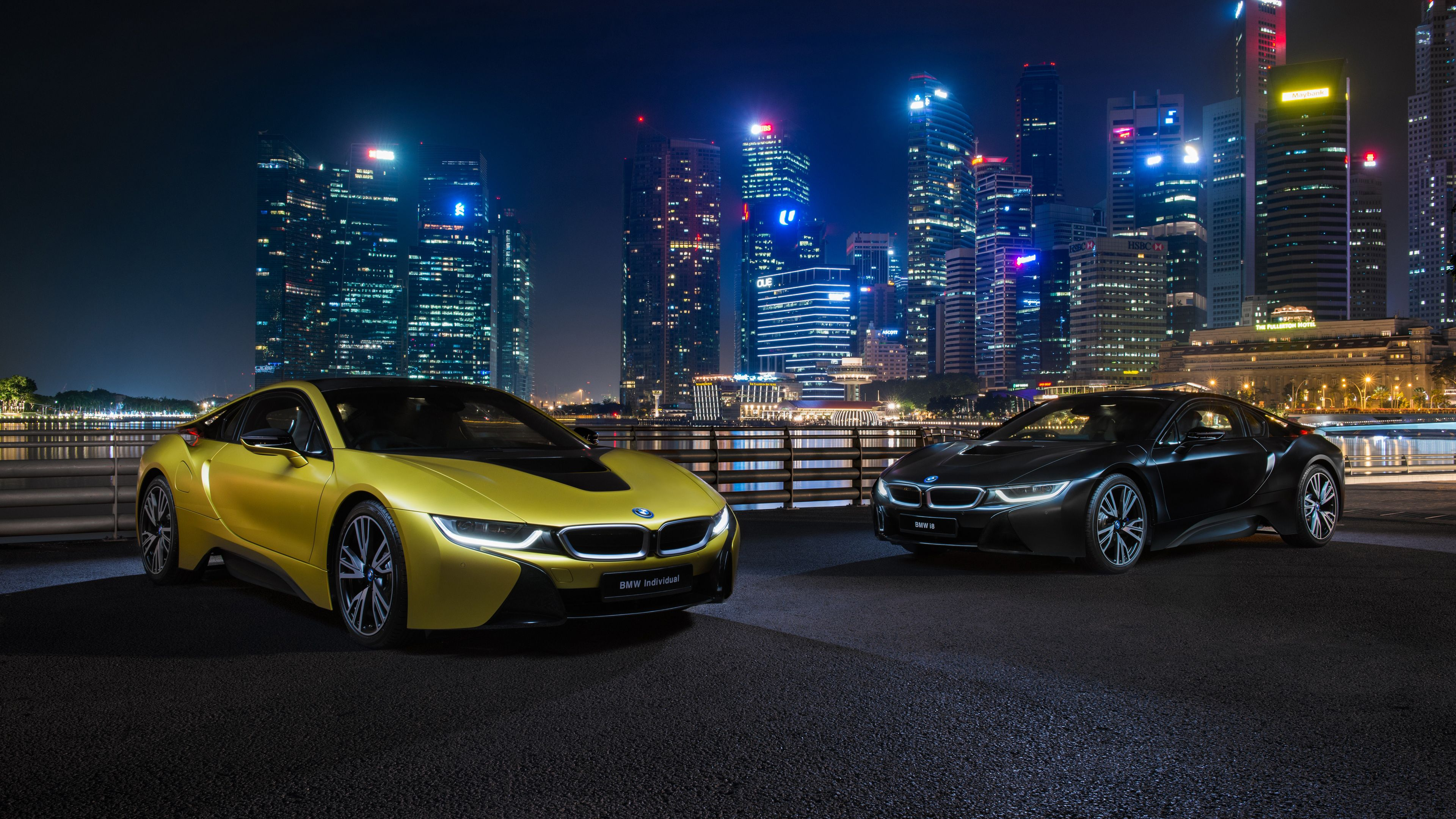 Bmw I8 Frozen Yellow Edition Hd Wallpapers Cars Wallpapers