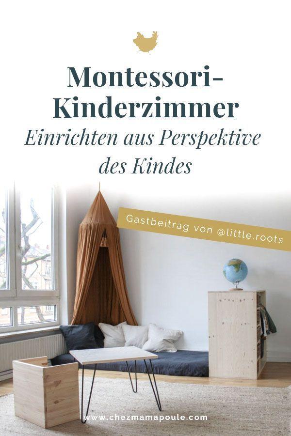 Wohnung aus Perspektive der Kinder einrichten. Oder wie Montessori Leben verändert.