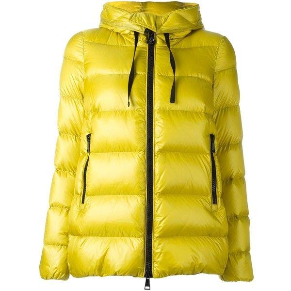 moncler Coats YELLOW